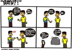komik strip batu2